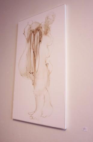 """Tween"" oil on canvas, 2009"