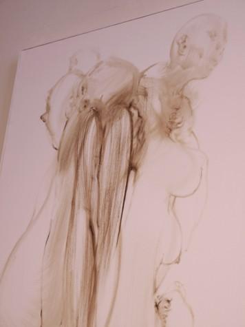 "Detail: ""Tween"", oil on canvas, 2009"